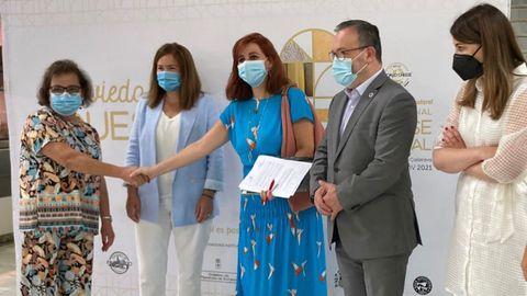 Firma del acuerdo de colaboración entre el Mercado El Fontán y el International Cheese Festival