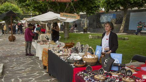 Mercado artesanal Marusía celebrado el pasado junio en Corme
