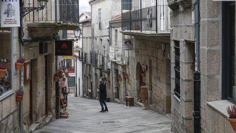 Calle del casco histórico de la capital alaricana