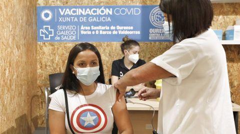 La vacunación continúa en Ourense