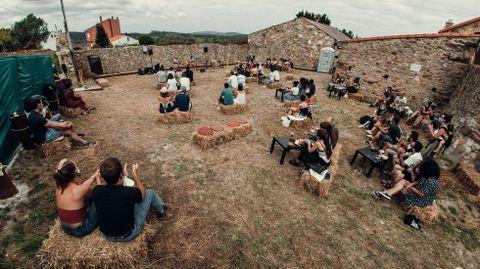 Orballo Cultural, el año pasado, en el Forno da Costa, Buño