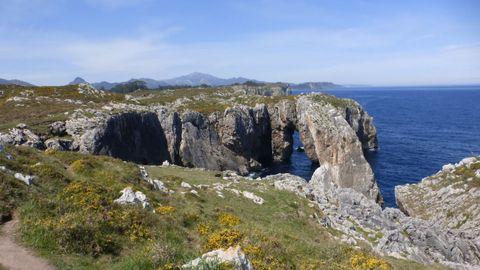 Karst litoral del Oriente de Asturias
