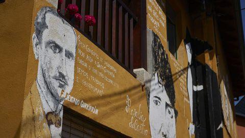 Anxo Baranga pediu que se honrase nas Letras Galegas a Florencio Delgado.