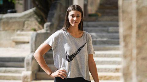 Raquel Carrera está viviendo sus primeros juegos con solo 19 años
