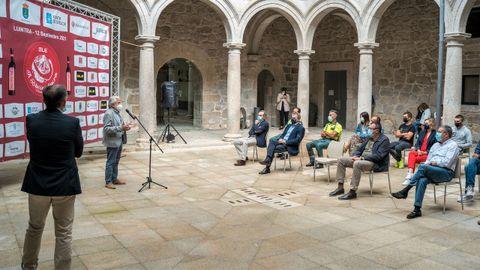 Rosendo Fernández presentó la Ale Ribeira Sacra