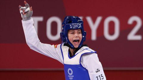 Adriana Cerezo, de 17 años, luchará por el oro