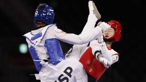 Combate de Adriana Cerezo y la china Wy Jingyu