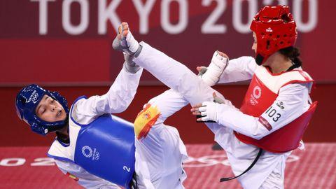 Combate de Adriana Cerezo y la turca Rukiye Yildirim