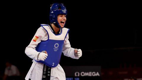 Adriana Cerezo celebra su pase a la final