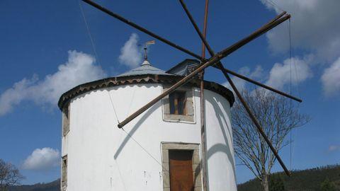 Muíño de vento de Santa Marta de Ortigueira.