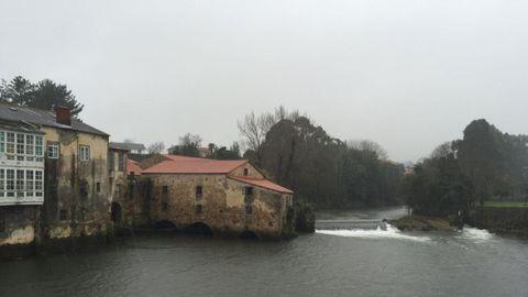 Muíño de Xuvia, onde o Rio Grande se fai mar.