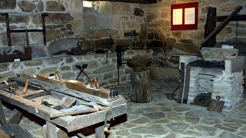 La Reitoral de Vilar de Santos fue rehabilitada para acoger el Museo Etnográfico da Limia