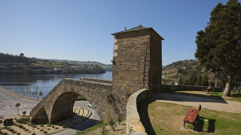 Ponte de Portomarín.