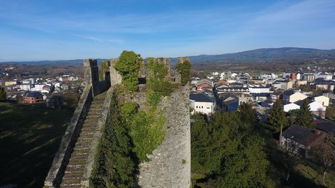Torre do Batalhão da fortaleça de Sarria.