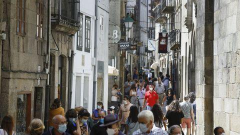 Rua do Franco, em Santiago