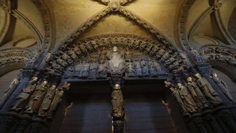 Pórtico da Glória, na Catedral de Santiago