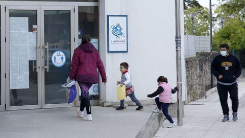 En Galicia, el 70% de los niños de dos años están escolarizados
