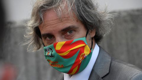 Germán-Ramón Inclán Méndez, abogado de los cuatro ciudadanos portugueses presuntamente implicados en un caso de violación a dos mujeres en una pensión de Gijón