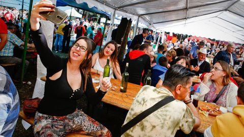 La Festa do Pulpo de O Carballiño en el 2019, la última que se realizó antes del covid