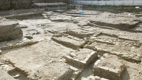 El yacimiento excavado en el año 2008 en A Tinería