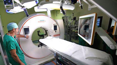 Un quirófano de neurocirugía, en imagen de archivo