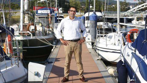 Enrique Dobarro, candidato a la presencia del Club Naval de Pontevedra