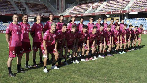 Plantilla del Pontevedra CF para la temporada 2021-2022