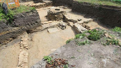 La zona izquierda es la que se ha excavado recientemente