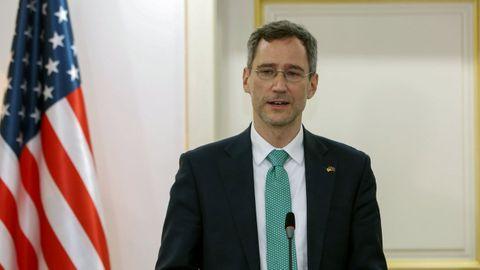 Joey Hood, subsecretario adjunto de Estados Unidos encargado de Oriente Medio