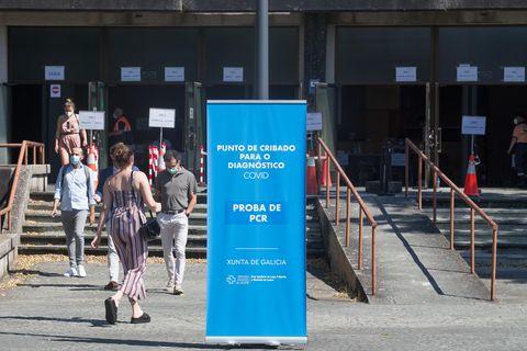 La Facultad de Veterinaria del Campus de Lugo acogió un cribado masivo al que fueron llamados 3.000 lucenses.