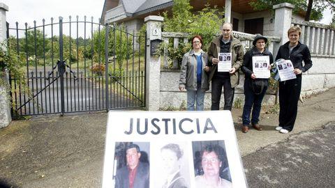 La familia de Julia dos Ramos, asesinada junto a su marido y su hijo pequeño, organizaron diferentes actos para reclamar justicia