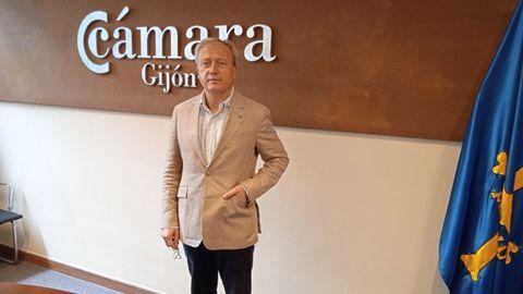 Álvaro Alonso Ordás, secretario general de la Cámara de Comercio de Gijón y director de la Fidma