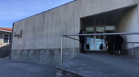 Centro de salud de Baltar, en Portonovo