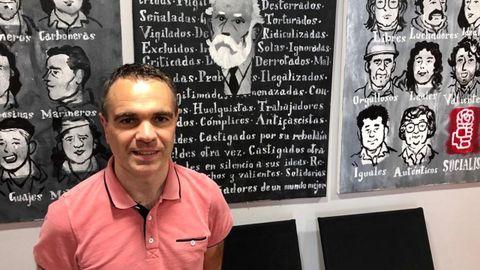El secretario de Política Municipal de la FSA-PSOE, Iván Fernández