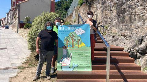 Sonia Outón y Pés de Barro presentaron el cartel de Folk no Alobre