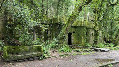 El bosque encantado de Cangas
