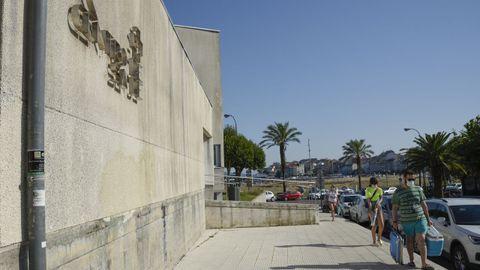 Centro de salud de Baltar, en Sanxenxo, este verano