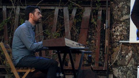 El pianista Iago Vázquez