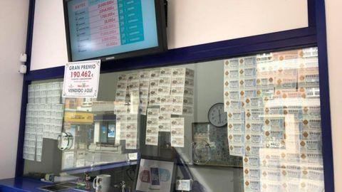 La administración de lotería número 20, en la calle Margarita Xirgu, en Gijón