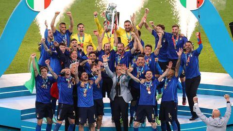 La selección italiana fue la vencedora