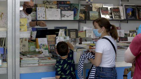 50 edición de la Feria del Libro de A Coruña