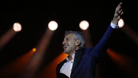 Sergio Dalma en un concierto en 2018 en A Coruña
