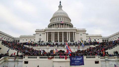 Asalto al Capitolio el pasado enero