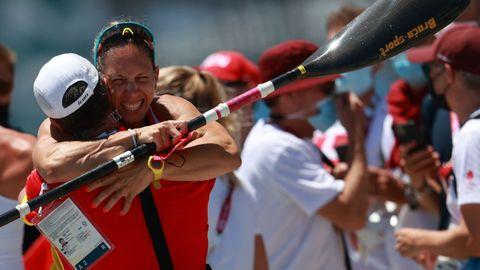 Teresa Portela, medalla de plata en 200 metros en Tokio 2020