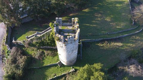 Batallón Tower in the fortress of Sarria.