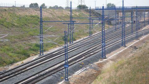 Imagen del enlace de Olmedo (Valladolid), donde se construirá el baipás