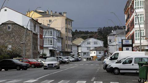 Imagen de archivo del centro urbano de Xove