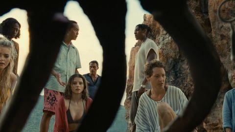 Fotograma de la película «Tiempo», de M. Night Shyamalan