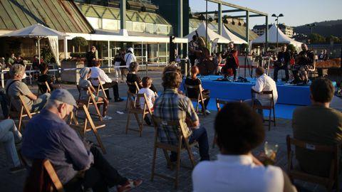 Uno de los conciertos de este verano en la terraza de Ponte Vella