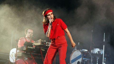 Concierto de Zahara en el Altlantic Fest el pasado julio.